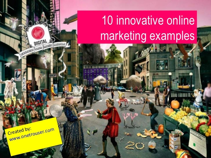 10 innovative online marketing examples for Innovative home designs and marketing