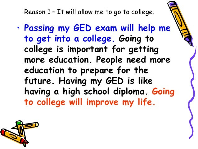 going to college 2 essay Why go to college specific purpose: to persuade my audience that going to college is the best option to prepare them for the rest of their lives central idea: going to the college is a good.