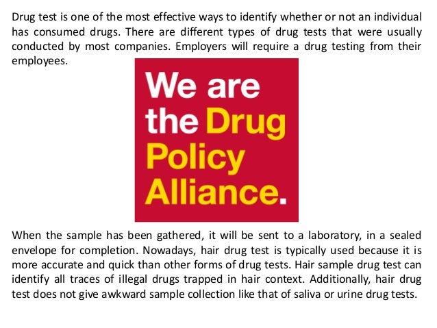 One Way To Pass A Drug Test And Drug Testing Policy