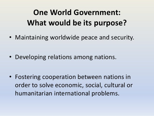 UN Agenda 2030 Revealed: They Want A One World Government
