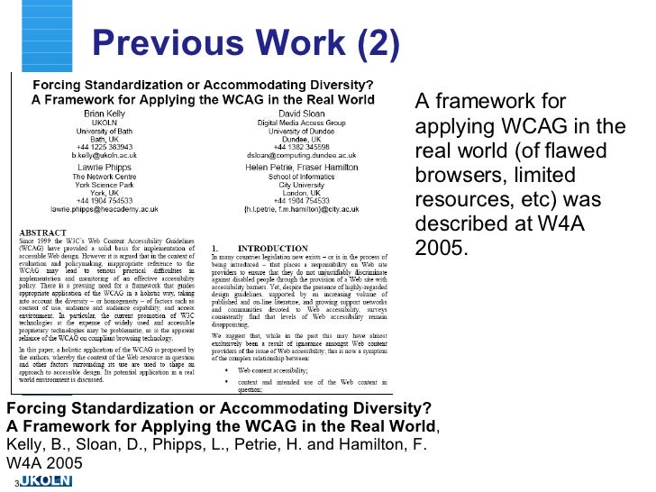 One World, One Web ... But Great Diversity Slide 3