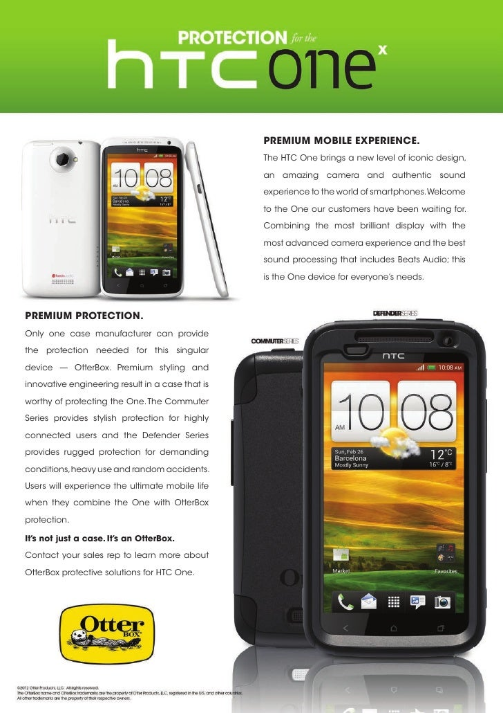 Premium Mobile Experience.                                                  The HTC One brings a new level of iconic desig...