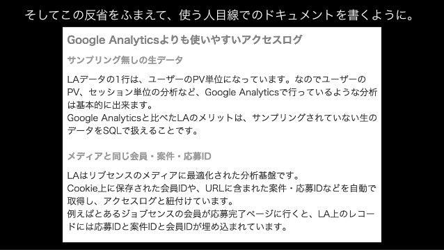 Livesense Analyticsの成果を、 Blog記事にしましょう、と言われて 2014/04 2014/07 2014/10 2015/01 2015/04 入社・配属 ユーザー行動解析ツール Livesense Analyticsの...