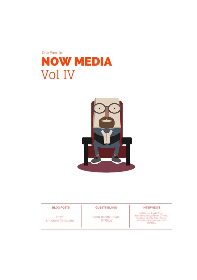 1 CONTENTS Introduction Chapter One - The blog posts For those about to embark on something transmedia - we salute you! Fu...