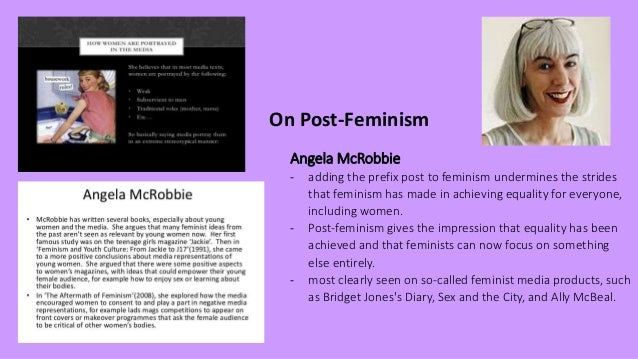Sex and the city postfeminism