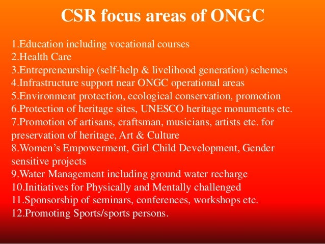 csr by ongc Csr assam asset ongc nazira, nazira 488 likes this page is meant to showcase the activities of csr in assam asset ongc nazira no details of extent.