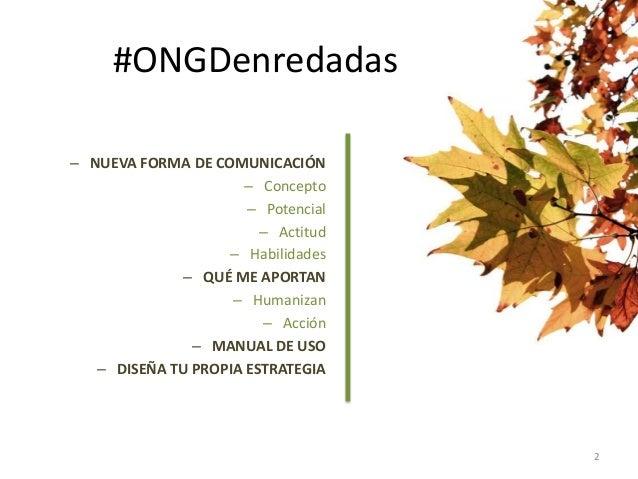 Social media y ONGD Slide 2