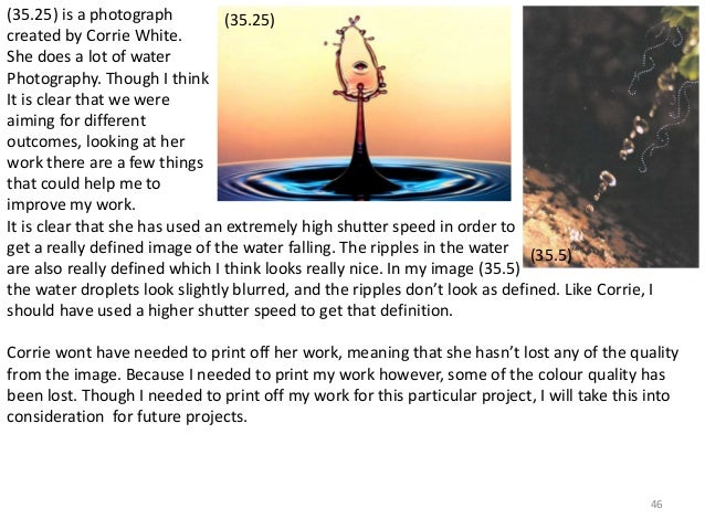 (35.25) is a photograph  created by Corrie White.  She does a lot of water  Photography. Though I think  It is clear that ...