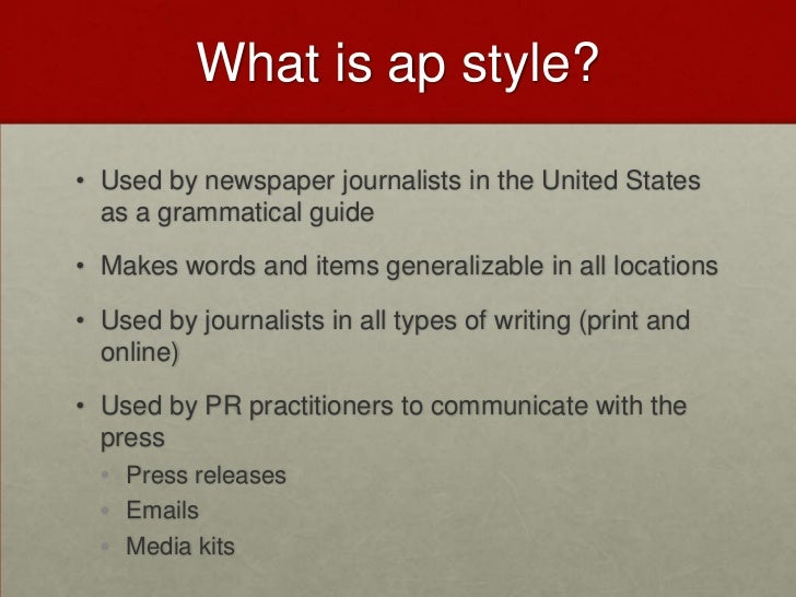 grammar ap style workshop rh slideshare net ap style guide time ap style guidelines