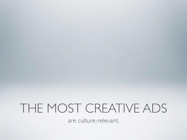 On Great Creative Slide 3
