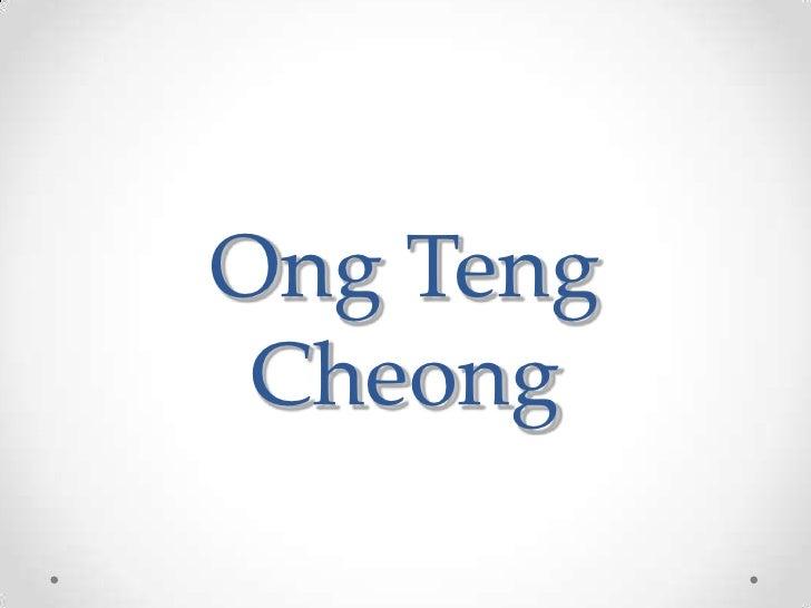 Ong Teng Cheong<br />