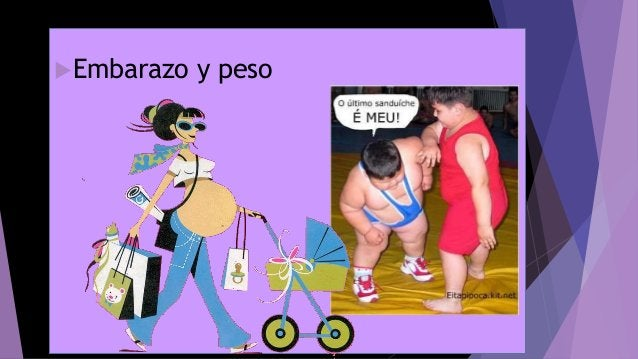 Embarazo y peso