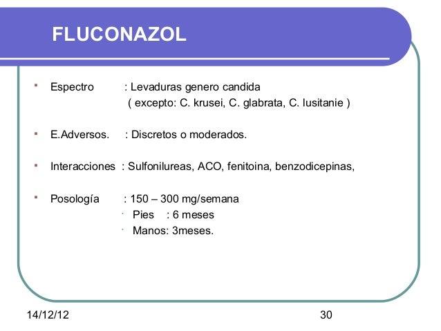fluconazol posologia