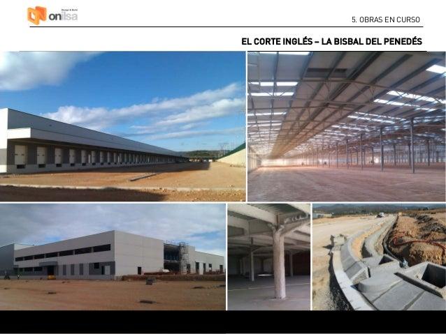 Onilsa servicios de constructora industrial log stica y comercial - Oficinas el corte ingles barcelona ...