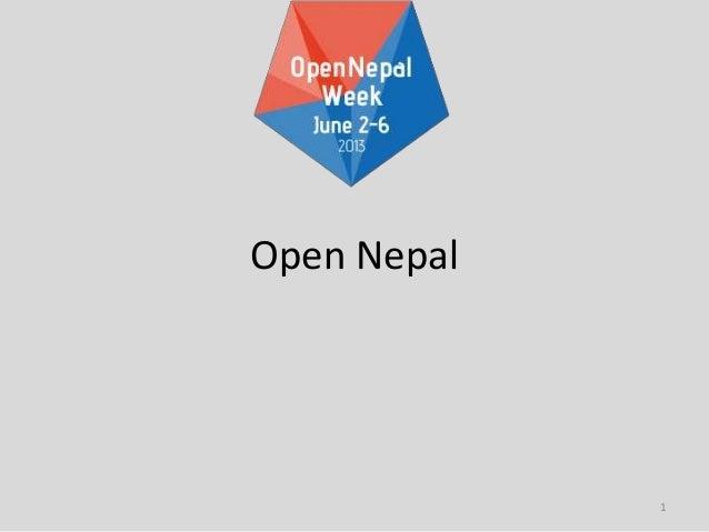 1Open Nepal