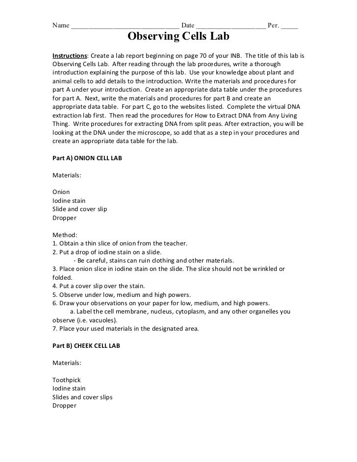 Strawberry dna extraction post lab answers | Thesis statement ...