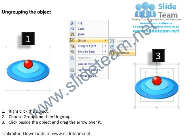how to create an onion diagram in powerpoint