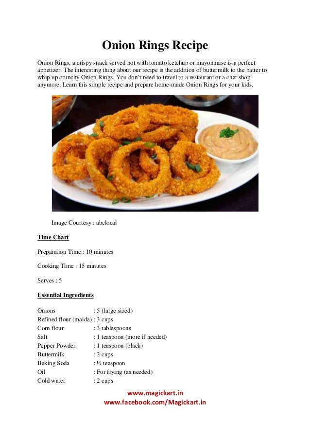 Onion Rings With Bread Crumbs No Flour