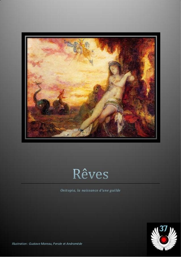 Onitopia, la naissance d'une guilde 37 Illustration : Gustave Moreau, Persée et Andromède