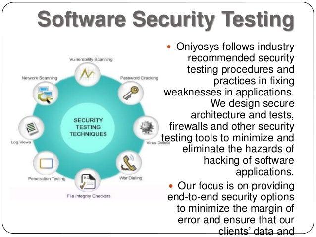 Software penetration testing software