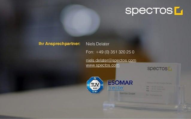 Spectos Performance Management in Echtzeit. Alle Rechte vorbehalten Spectos 2001-2015 Niels Delater Fon: +49 (0) 351 320 2...
