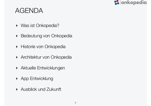 Onkopedia - Plone Tagung 2020 Dresden Slide 3