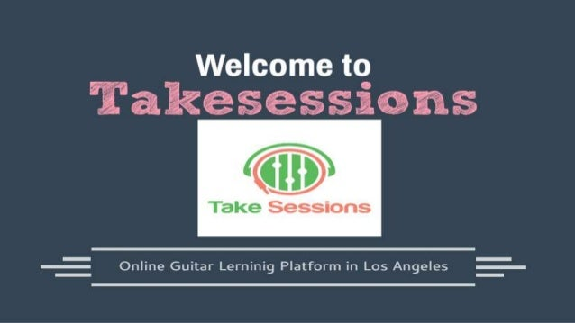 "About us ""Takesessions"" Take Sessions is a private music lessons company in US that focuses on beginning and aspiring stud..."