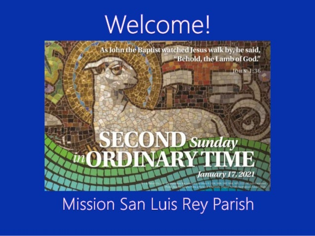 FROM THE PASTOR Fr. Oscar Mendez, OFM This is the challenge that lies before each one of us. This is letting Jesus look us...