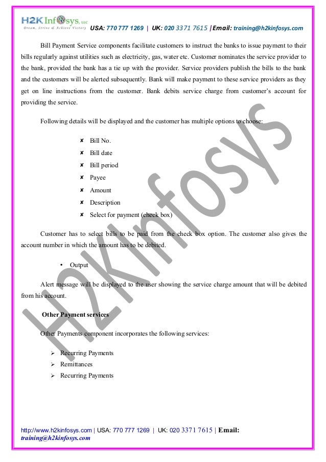 Online Banking Business Requirement Document