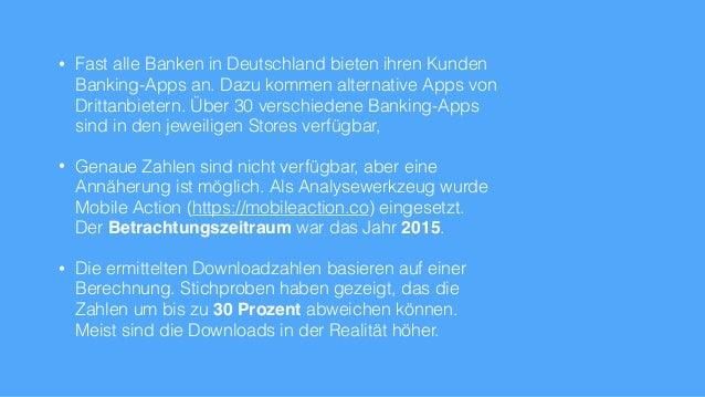 Online-Banking Apps Deutschland Übersicht 2015 Slide 2
