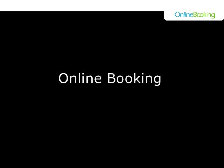 Online Booking a
