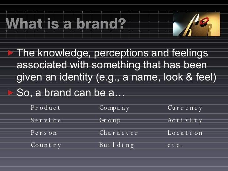 Online Branding-Elements of a Successful Brand Slide 2