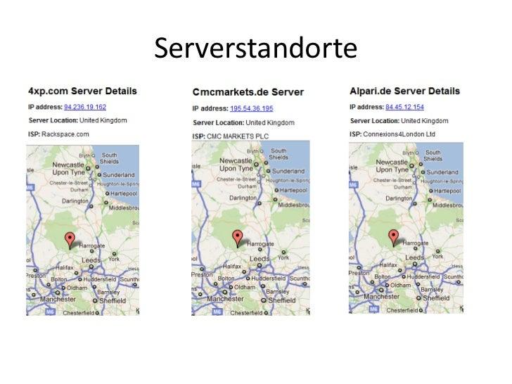 Serverstandorte