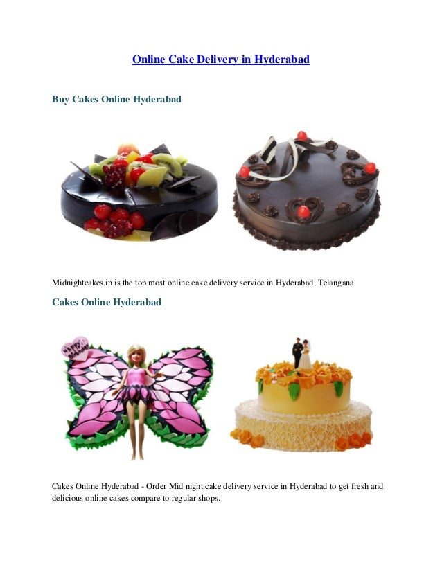 Online Cake Delivery In Hyderabad Buy Cakes Midnightcakesin Is The Top Most