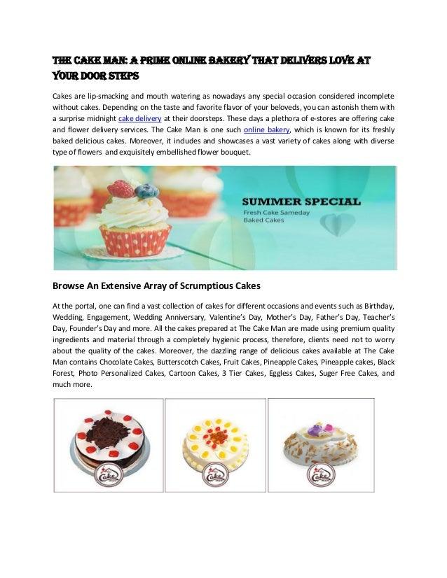 Best Bakery Shop To Deliver Online Cake In Noida