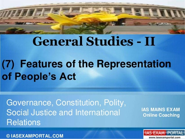 The Representation of the People (Amendment and Validation) Bill, 2013