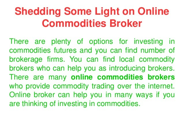 Online trading in futures and options