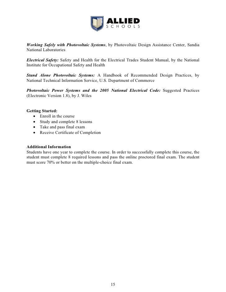 Online Course Catalog 2009