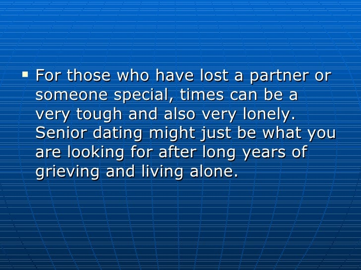 Dating advice for baby boomers