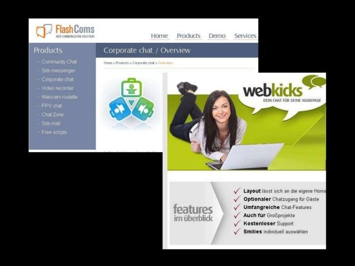 Einfache Anbindung an Website und Blog