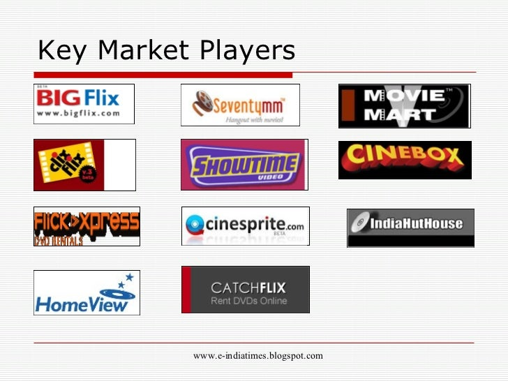 online dvd rental market analysis