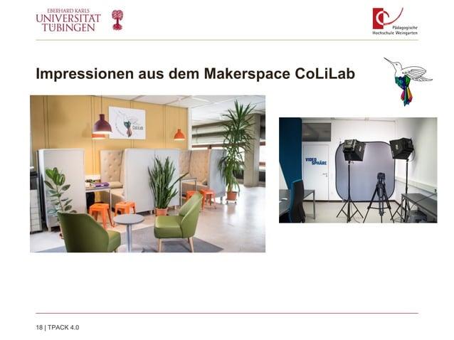 Impressionen aus dem Makerspace CoLiLab 18   TPACK 4.0