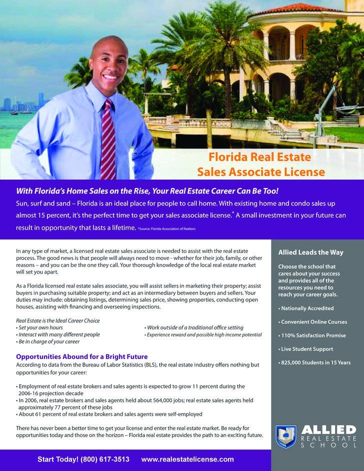 Florida Real Estate                                                                                         Sales Associat...