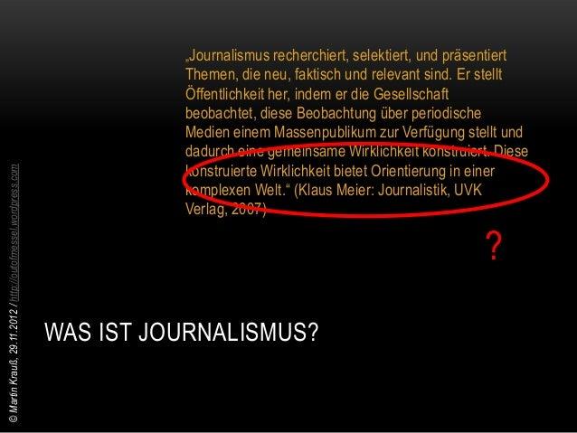© Martin Krauß, 29.11.2012 / http://outofmessel.wordpress.com              HINZU KOMMEN NEUE              MEDIENKOMBINATIO...