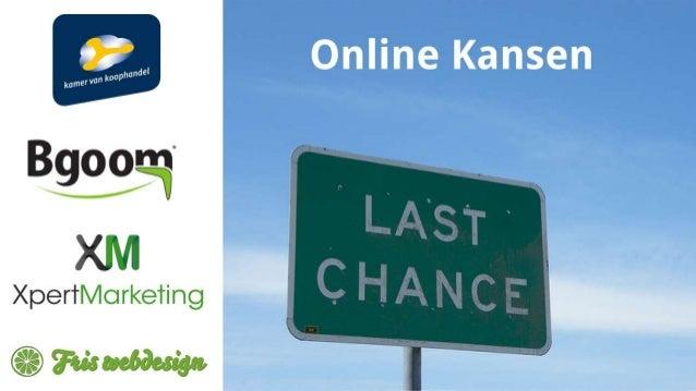 Online Kansen - Ondernemersplein Den Haag