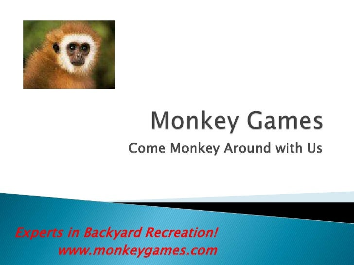 Come Monkey Around with Us     Experts in Backyard Recreation!       www.monkeygames.com