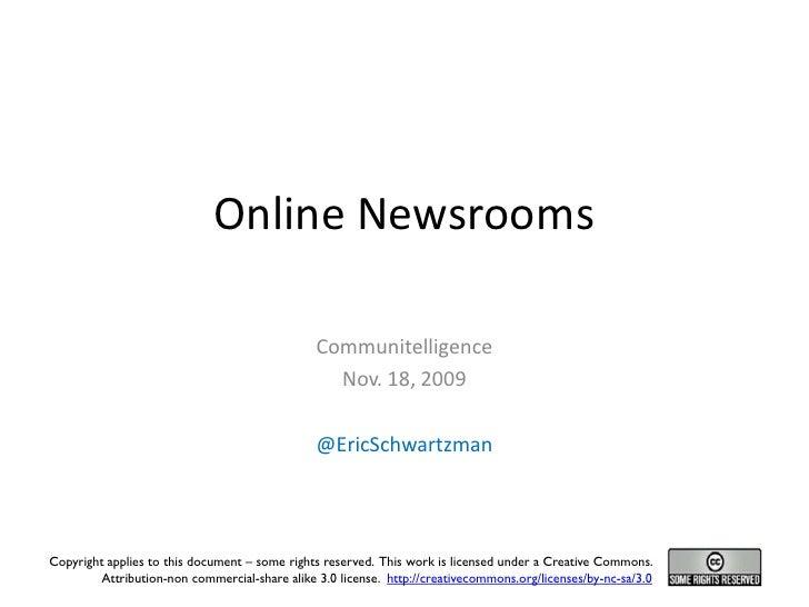 Online Newsrooms                                                  Communitelligence                                       ...