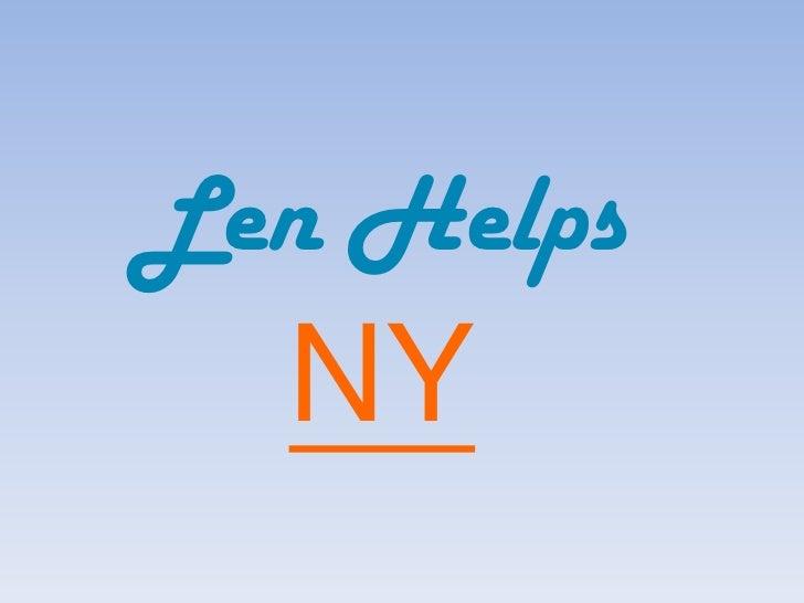 Len HelpsNY<br />