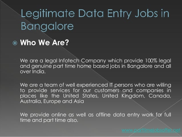 Online jobs from home without investment in bangalore dating century 21 investment realty baton rouge