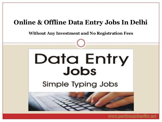 Online Jobs: Online Data Entry Online Jobs